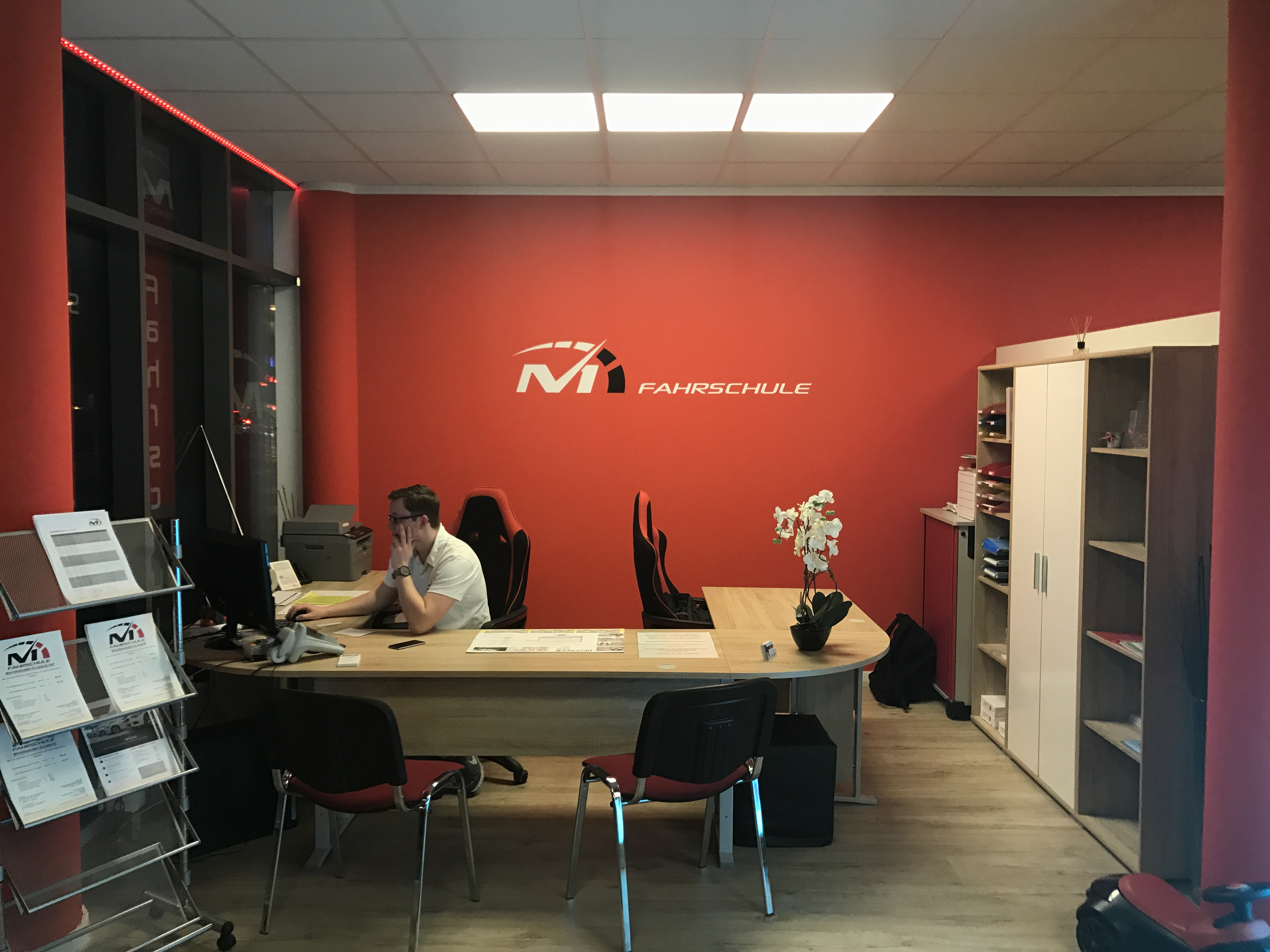 unsere filialen in m nchen empfang fahrschule m1. Black Bedroom Furniture Sets. Home Design Ideas